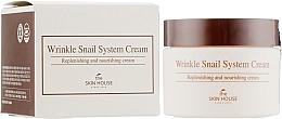 Düfte, Parfümerie und Kosmetik Anti-Aging Gesichtscreme mit Schneckenextrakt - The Skin House Wrinkle Snail System Cream