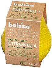 Düfte, Parfümerie und Kosmetik Duftkerze im Glas Citronella Patiolight 94/91 mm - Bolsius