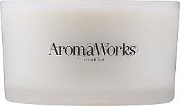 Düfte, Parfümerie und Kosmetik Duftkerze im Glas mit 3 Dochten Erziehung - AromaWorks Nurture Candle 3-wick