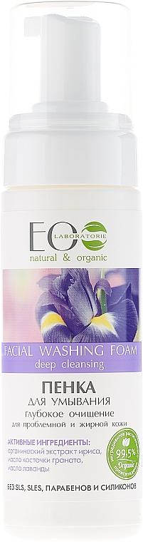 Gesichtsreinigungsschaum für fettige und problematische Haut - ECO Laboratorie Facial Washing Foam