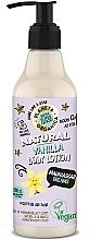 Düfte, Parfümerie und Kosmetik Feuchtigkeitsspendende und schimmernde Körperlotion mit Vanille - Planeta Organica Vanilla Body Lotion Madagascar Dreams