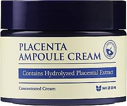 Düfte, Parfümerie und Kosmetik Aufhellende Anti-Falten Gesichtscreme mit Plazenta-Extrakt - Mizon Placenta Ampoule Cream