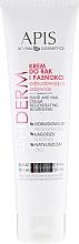 Düfte, Parfümerie und Kosmetik Hand- und Nagelcreme - APIS Professional Apiderm Hand And Nail Cream Restoring And Nourishing