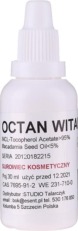 Natürliches Vitamin E in kaltgepresstem Jojoba und Passionsblumenöl für Gesicht - Esent