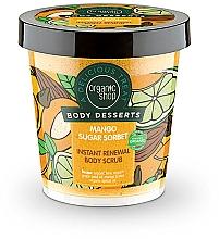 Düfte, Parfümerie und Kosmetik Antioxidatives Körperpeeling mit Bio Mangobutter - Organic Shop Body Desserts Mango Sugar Sorbet