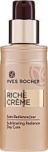 Düfte, Parfümerie und Kosmetik Aufhellende Gesichtslotion gegen Falten - Yves Rocher Riche Creme Sublimating Radiance Day Care