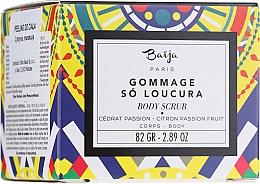Düfte, Parfümerie und Kosmetik Körperpeeling mit Zitrone und Passionsfrucht - Baija Gommage So Loucura Citron Passion Fruit Body Scrub