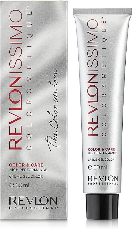 Creme-Gel-Haarfarbe mit Hyaluronsäure und Sojaprotein - Revlon Professional Revlonissimo Color & Care Technology XL150 — Bild N7