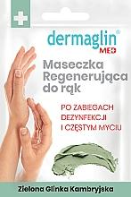 Düfte, Parfümerie und Kosmetik Regenerierende Handmaske mit grüner Tonerde - Dermaglin