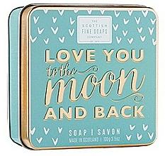 Düfte, Parfümerie und Kosmetik Parfümierte Körperseife - Scottish Fine Soaps Love You To The Moon And Back Soap In A Tin