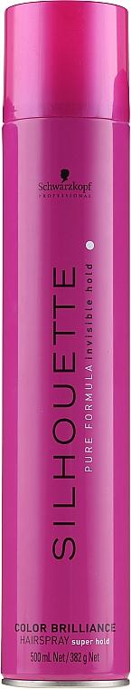 Haarlack für gefärbtes Haar - Schwarzkopf Professional Silhouette Color Brilliance Hairspray  — Bild N3