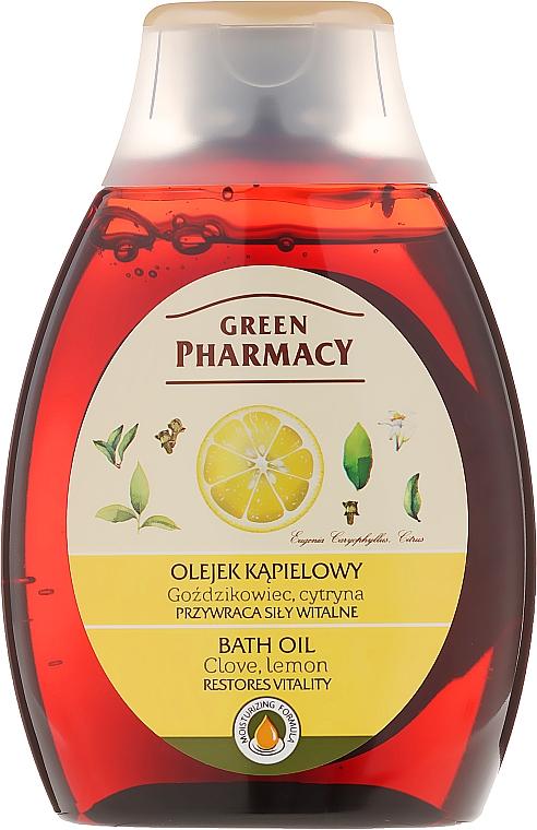 Badeöl mit Nelke und Zitrone - Green Pharmacy