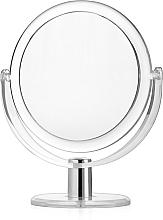 Düfte, Parfümerie und Kosmetik Doppelseitiger Standspiegel Durchmesser 16 cm - Titania