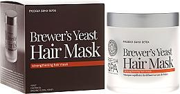 Düfte, Parfümerie und Kosmetik Kräftigende Hefemaske für schwaches und strapaziertes Haar - Natura Siberica Fresh Spa Russkaja Bania Detox Brewers Yeast Hair Mask