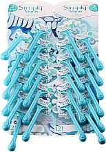 Düfte, Parfümerie und Kosmetik Einwegrasierer für Damen 24 St. - Gillette Simly Venus 2 Satin Care