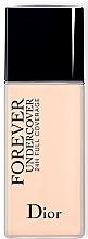 Düfte, Parfümerie und Kosmetik 24 Stunden Fluid-Foundation mit extrem hoher Deckkraft - Dior Forever Undercover 24H Full Coverage Foundation