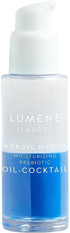 Intensiv feuchtigkeitsspendender Gesichtsöl-Cocktail mit Präbiotikum - Lumene Nordic Hydra Moisturizing Prebiotic Oil-Cocktail