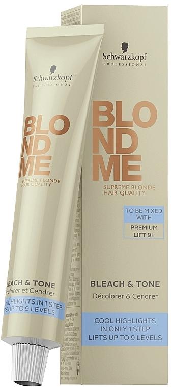 Additiv zur Aufhellung & Nuancierung - Schwarzkopf Professional BlondMe Bleach & Tone