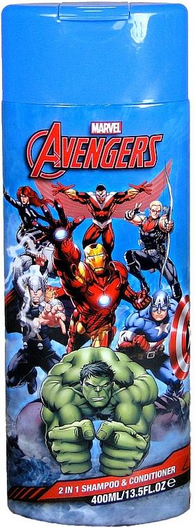 2in1 Shampoo und Haarspülung für Kinder Marvel Avengers - Corsair Marvel Avengers 2in1 Shampoo&Conditioner