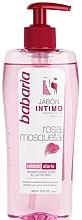 Düfte, Parfümerie und Kosmetik Gel für die Intimhygiene mit Hagebutten - Babaria Rosa Mosqueta Intimate