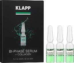 Düfte, Parfümerie und Kosmetik Zweiphasiges Gesichtsserum mit Kollagen - Klapp Bi-Phase Serum Collagen