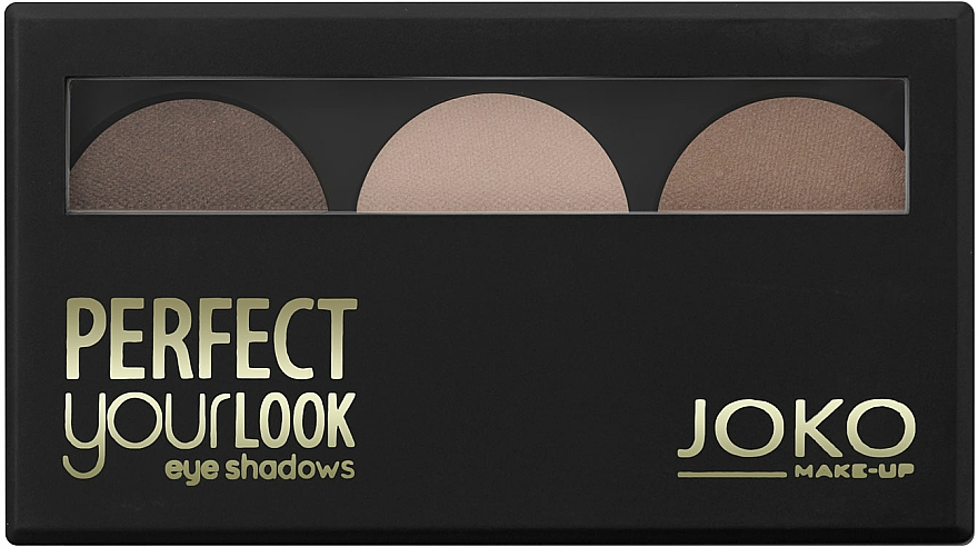 Lidschatten-Trio - Joko Perfect Your Look Trio Eye Shadows
