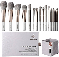 Düfte, Parfümerie und Kosmetik Make-up Pinselset 15 St. - Eigshow Beauty Intoxicated Gentle Wind Brush Set