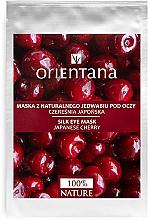 Düfte, Parfümerie und Kosmetik Maske für die Augenpartie mit Japanischer Kirsche - Orientana Eye Silk Pad Japanese Cherry