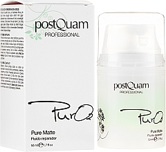 Düfte, Parfümerie und Kosmetik Regenerierendes Gesichtsfluid - PostQuam Pure 02 Matte Repair Fluid