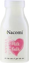 Düfte, Parfümerie und Kosmetik Tief feuchtigkeitsspendende Bademilch mit Bananenduft - Nacomi Milk Bath Banana