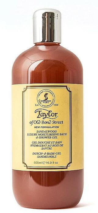 Taylor of Old Bond Street Sandalwood Shower Gel - Dusch- und Badegel mit Sandelholz