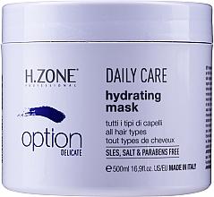 Düfte, Parfümerie und Kosmetik Feuchtigkeitsspendende Haarmaske - H.Zone Option Daily Care Hydrating Mask