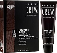 Grauhaarabdeckung Farbe - American Crew Precision Blend Shades — Bild N1