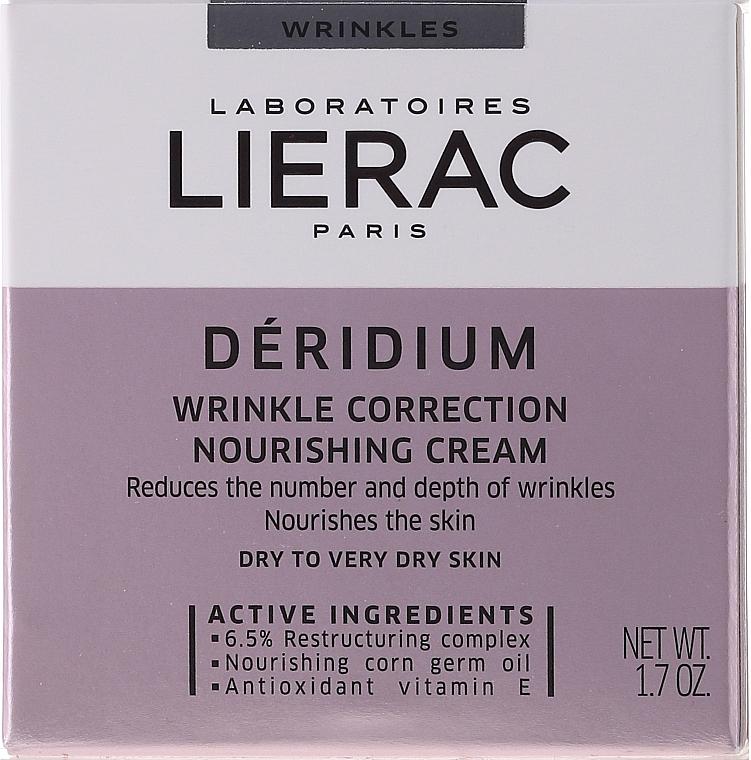 Anti-Falten nährende Gesichtscreme - Lierac Paris Deridium Wrinkle Correction Nourishing Cream