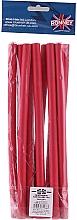 Düfte, Parfümerie und Kosmetik Schaumstoffwickler 12/240 mm rot 10 St. - Ronney Professional Flex Rollers