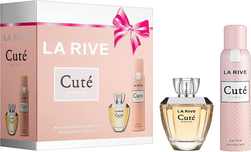 La Rive Cute Woman - Set(edp/100ml + deo/150ml)