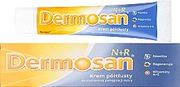 Düfte, Parfümerie und Kosmetik Halbfette Creme mit Vitamin A und E für Gesicht und Körper - Dermosan N+R Cream