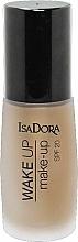 Foundation mit Anti-Müdigkeits-Effekt - IsaDora Wake Up Make-Up Foundation SPF 20 — Bild N1