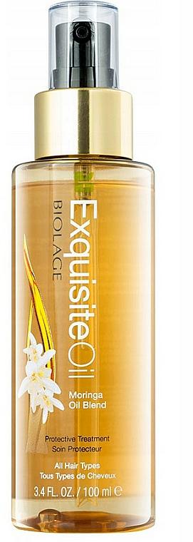 Pflegendes Moringaöl für alle Haartypen - Biolage Exquisite Oil Replenishing Treatment — Bild N1