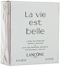 Lancome La Vie Est Belle - Duftset (Eau de Parfum/50ml + Körperlotion/50ml) — Bild N1