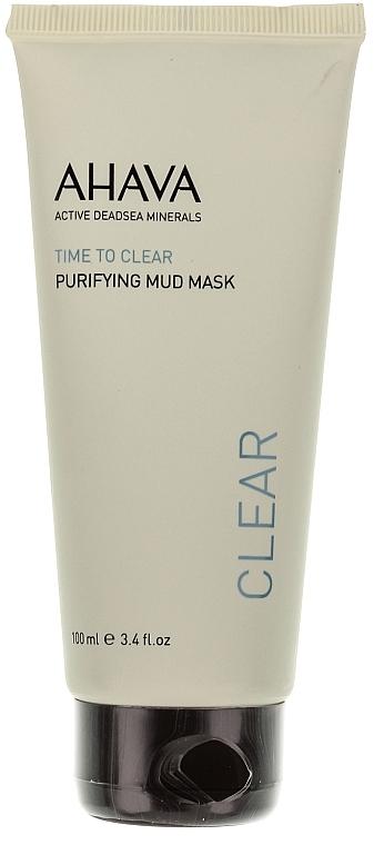 Reinigende und feuchtigkeitsspendende Gesichtsmaske mit Schlamm aus dem Toten Meer - Ahava Time To Clear Purifying Mud Mask — Bild N1