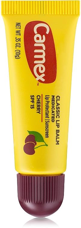 Schützender und beruhigender Lippenbalsam mit Kirschgeschmack SPF 15 - Carmex Cherry Lip Balm