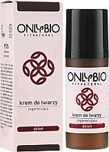 Düfte, Parfümerie und Kosmetik Regenerierende Tagescreme mit Rapsöl und Kollagen für alle Hauttypen - Only Bio Fitosterol