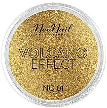 Düfte, Parfümerie und Kosmetik Schimmerndes Nagelpulver Volcano-Effect - NeoNail Professional Volcano Effect