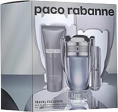 Düfte, Parfümerie und Kosmetik Paco Rabanne Invictus - Duftset (Eau de Toilette 100ml + Mini 10ml + Duschgel 75ml)