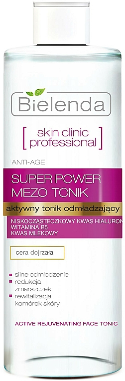 Aktives Anti-Age Gesichtstonikum - Bielenda Skin Clinic Professional Mezo