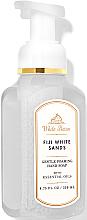 Düfte, Parfümerie und Kosmetik Schaumseife für die Hände Fiji White Sands - Bath and Body Works White Barn Fiji White Sands Gentle Foaming Hand Soap