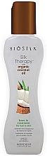 Düfte, Parfümerie und Kosmetik Seidentherapie für das Haar mit Bio-Kokosöl - Biosilk Silk Therapy With Organic Coconut Oil Leave In Treatment