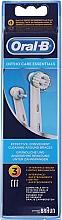 Düfte, Parfümerie und Kosmetik Austauschbare Zahnbürstenköpfe für elektrische Zahnbürste Ortho Care Essentials 3 St. - Oral-B Ortho Essentials