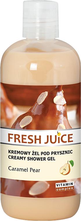 Creme-Duschgel mit Karamellbirne - Fresh Juice Caramel Pear Creamy Shower Gel